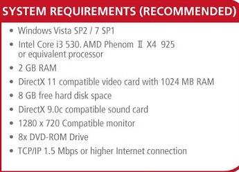 Spesifikasi Recommended PC Untuk PES 2014