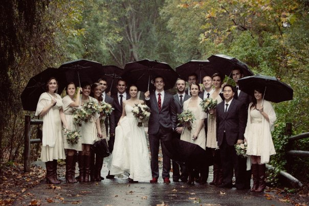 Life of a vintage lover a rainy barn wedding so the saying must be true rain on your wedding day is good luck and to be honest after seeing these beautiful images i would be okay with a little rain junglespirit Image collections