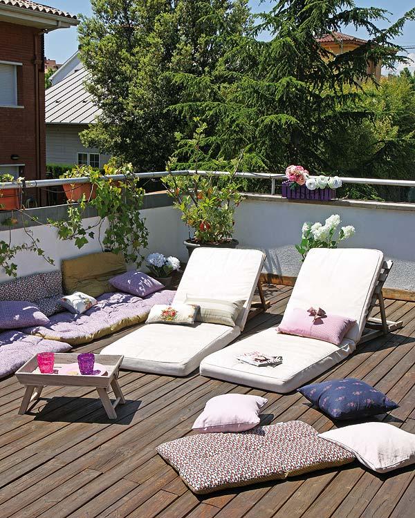 La guarida de bam terrazas al aire libre - Ideas para aticos ...