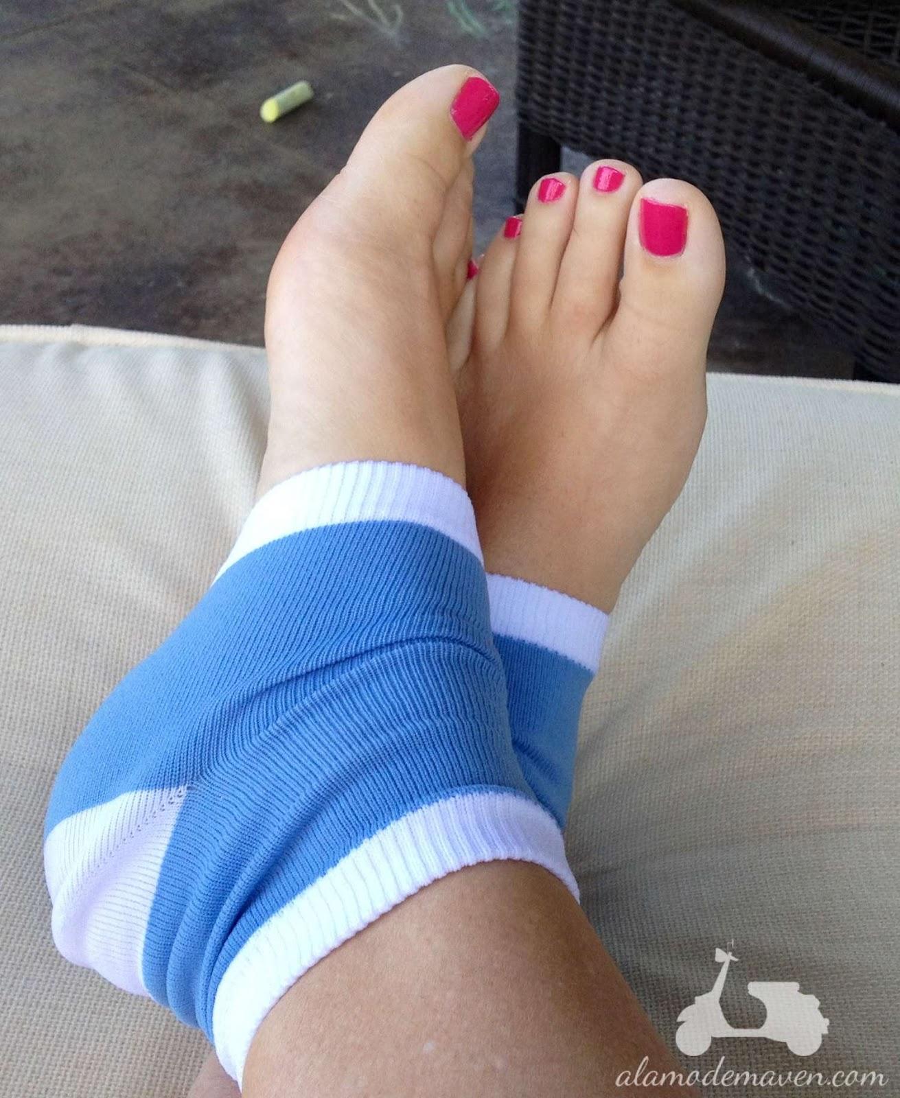 Understood flip flop feet