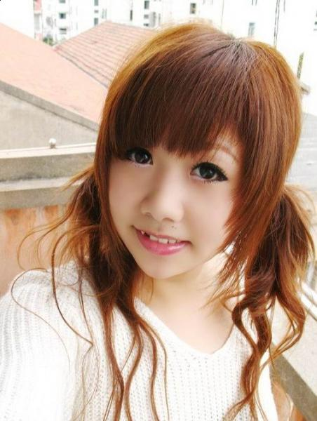 Chinese Hairstyles With Bangs