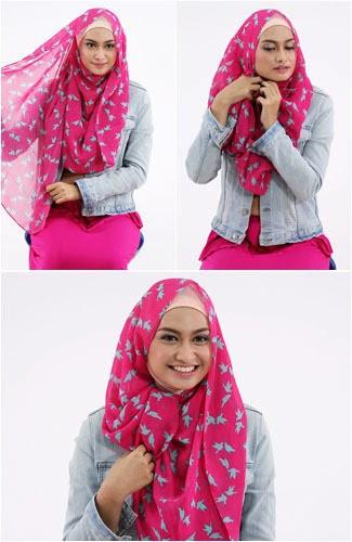 Model Hijab Pashmina Terbaru Yang Modis