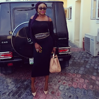 Photos: Ini Edo Steps Out In Style
