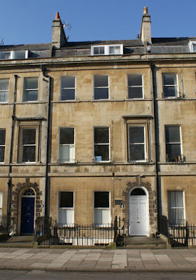 4 Sydney Place, Jane Austen's house in Bath Photo © Andrew Knowles