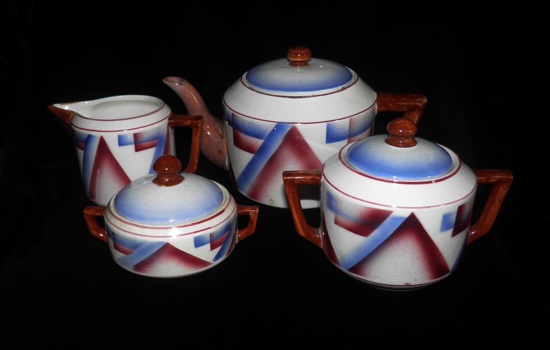 Moderna uma outra nem tanto servi o de ch art d co for Fabrica de ceramica