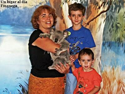 Viajar con niños a Australia