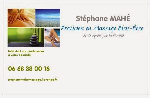 Carte De Visite Massage A Domicile ST53