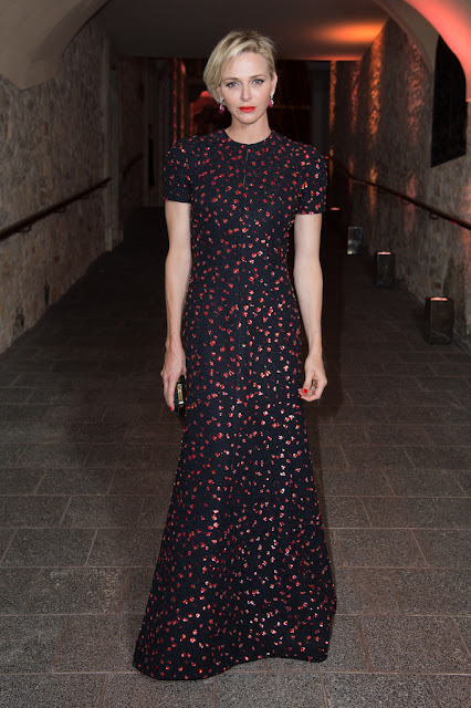 Princess Charlene in Dior at Princess Grace Awards 2015
