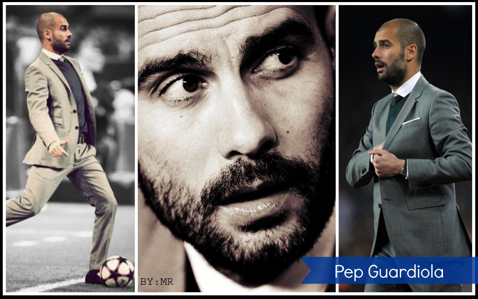 Pep Guardiola - pérdida de cabello