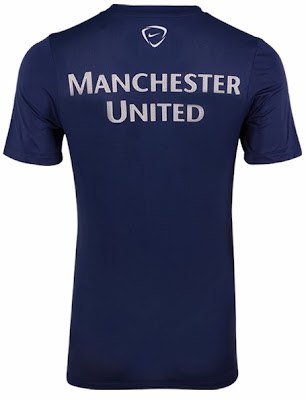 Jersey Grade Ori Training Manchester United Blue Official 2013-2014