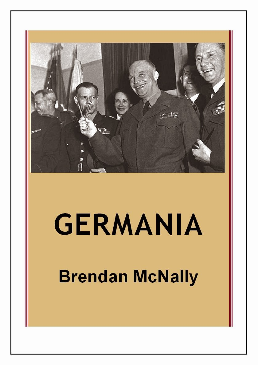 http://www.amazon.co.uk/Germania-Brendan-McNally-ebook/dp/B00BROR8RQ/ref=sr_1_1?ie=UTF8&qid=1397869944&sr=8-1&keywords=germania+brendan+mcnally