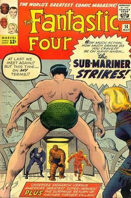 Fantastic Four #14, the Sub-Mariner returns