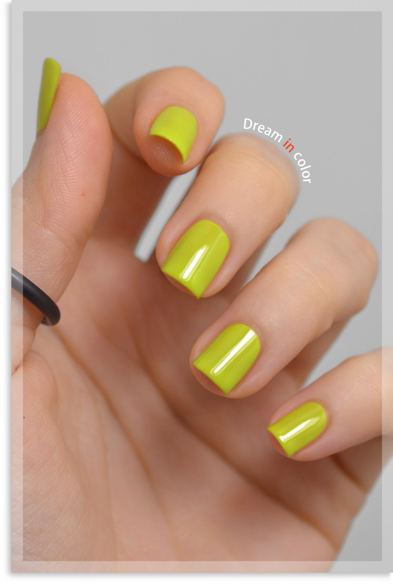China Glaze Trip of a lime time