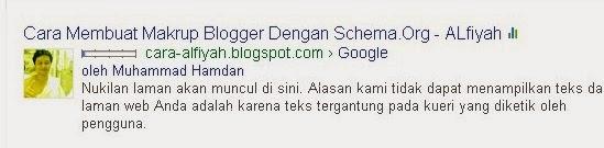 Makrup Blogger Dengan Schema.Org