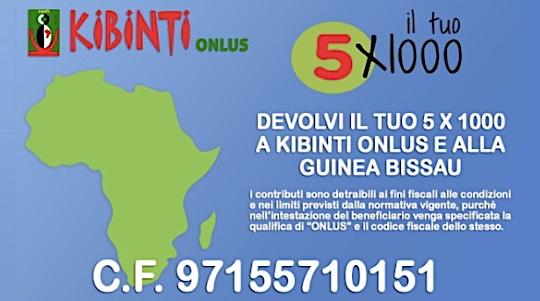 Dona il tuo 5x1000 ai Bambini Cardiopatici della Guinea Bissau: