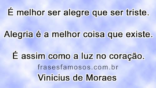 Frase de Vinicius de Moraes - samba da benção