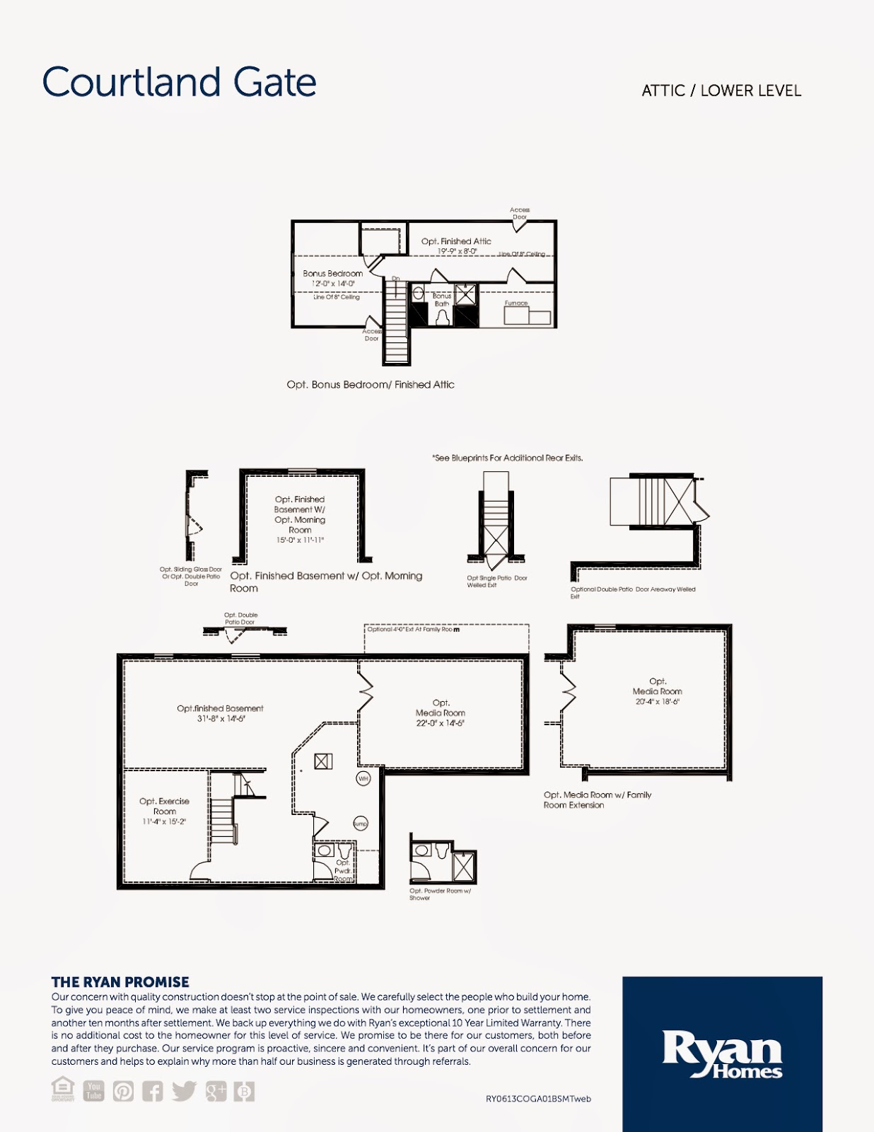 Ryan Homes Floor Plans Courtland Home Plan