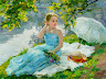 Vladimir Gusev, 1957 ~ Plein-air Figurative painter