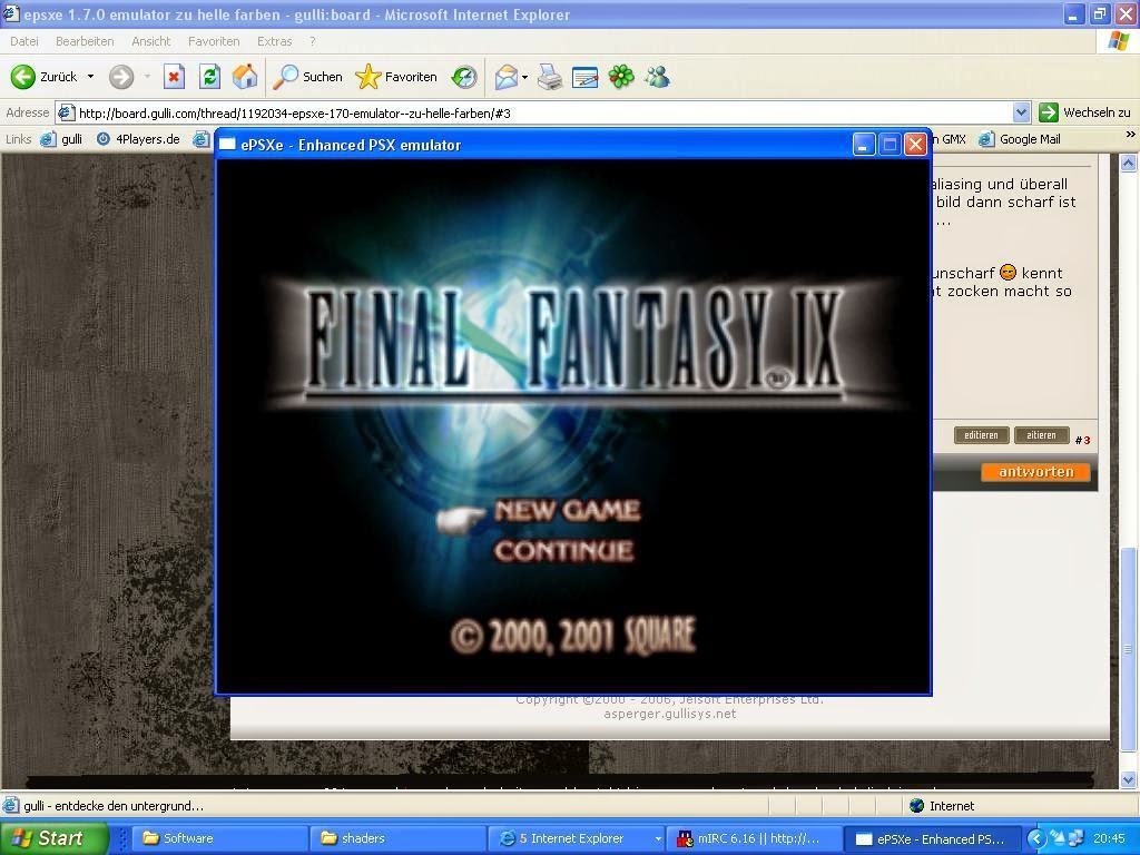 Ps1 emulator epsxe 1.7