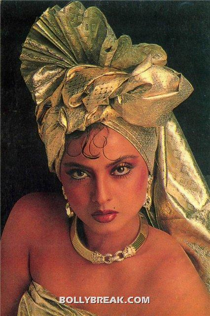 Rekha naked shoulder hot wallpaper - (16) - Rekha Hot Pics - 1980's 1970's Rekha Photo Gallery