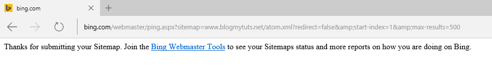 how to submit sitemap to bing or msn search engines gadgets technology