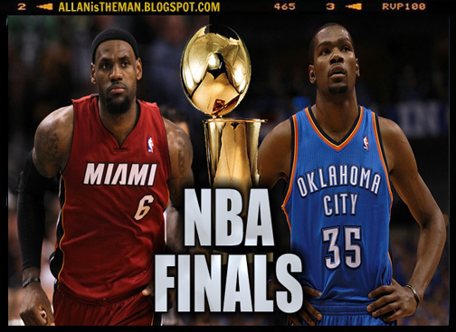 Watch NBA Finals 2012 Full Replay: Heat vs Thunder | ALLAN IS THE MAN