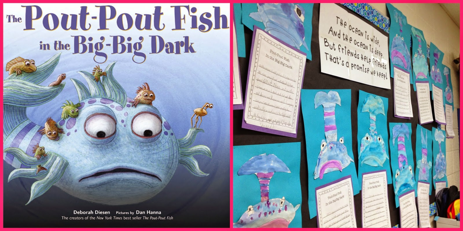 See jane teach multiage oceans for The pout pout fish in the big big dark