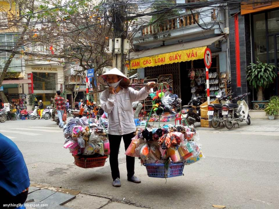 Anythinglily Hanoi Travel Part 8 The Street Peddlers Of