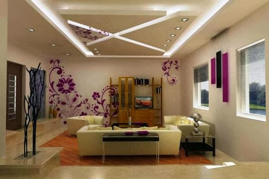 Michelle clunie new year 2014 modern false ceiling for Modern false ceiling designs for living room