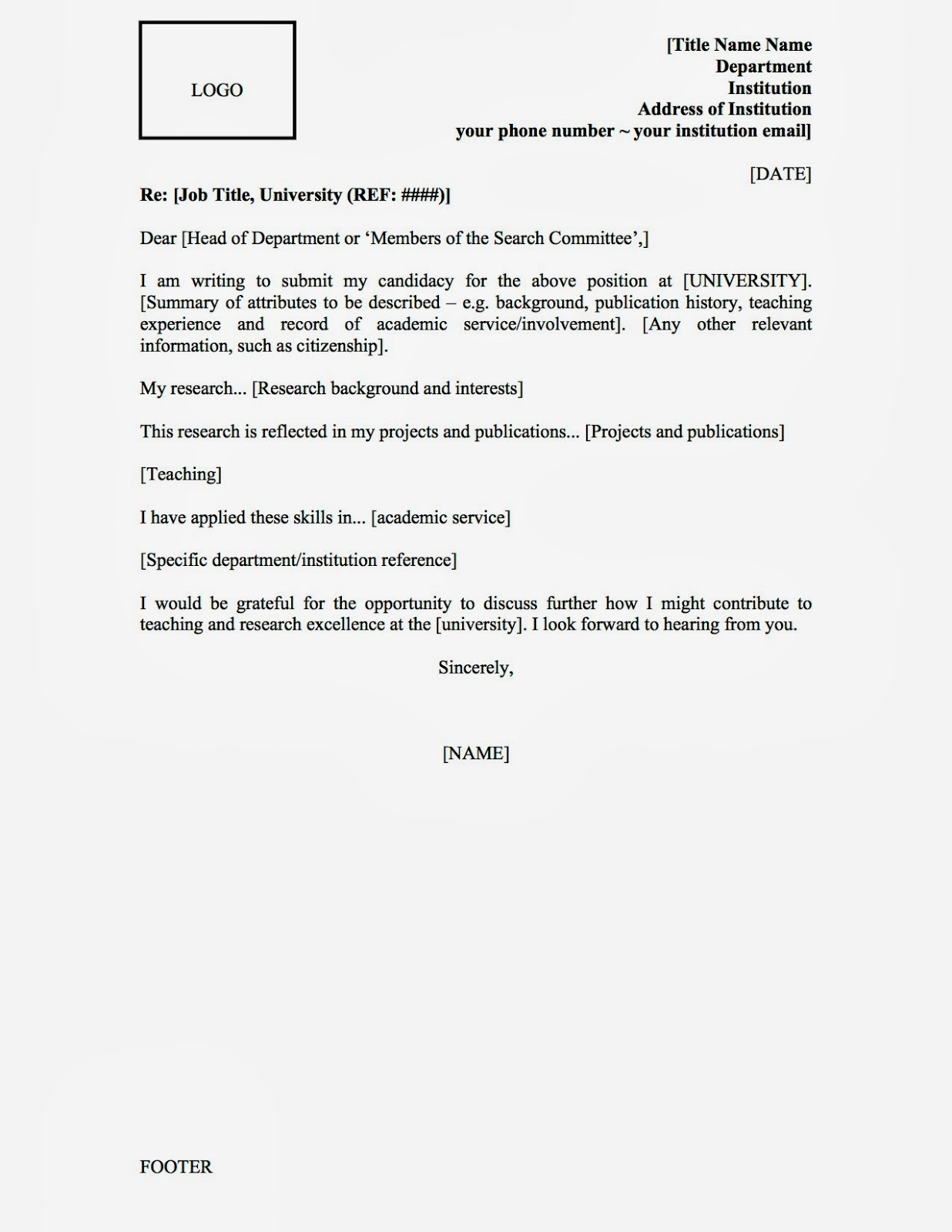 cover letter examples zoology - Resume Cover Letter Salutation