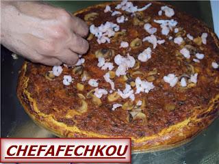 pizza au poissons à ma façon