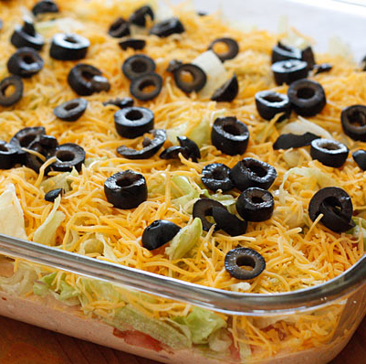 Cooking Pinterest: Skinny Taco Dip Recipe