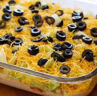Skinny Taco Dip Recipe