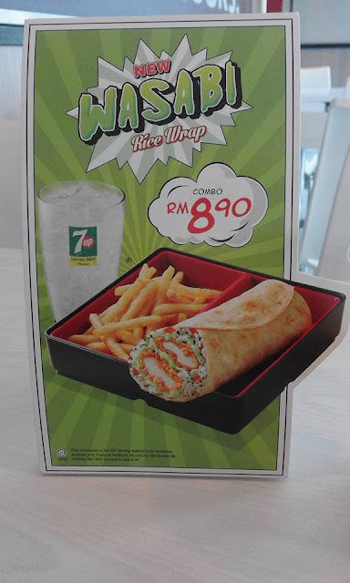 KFC Wasabi Rice Wrap