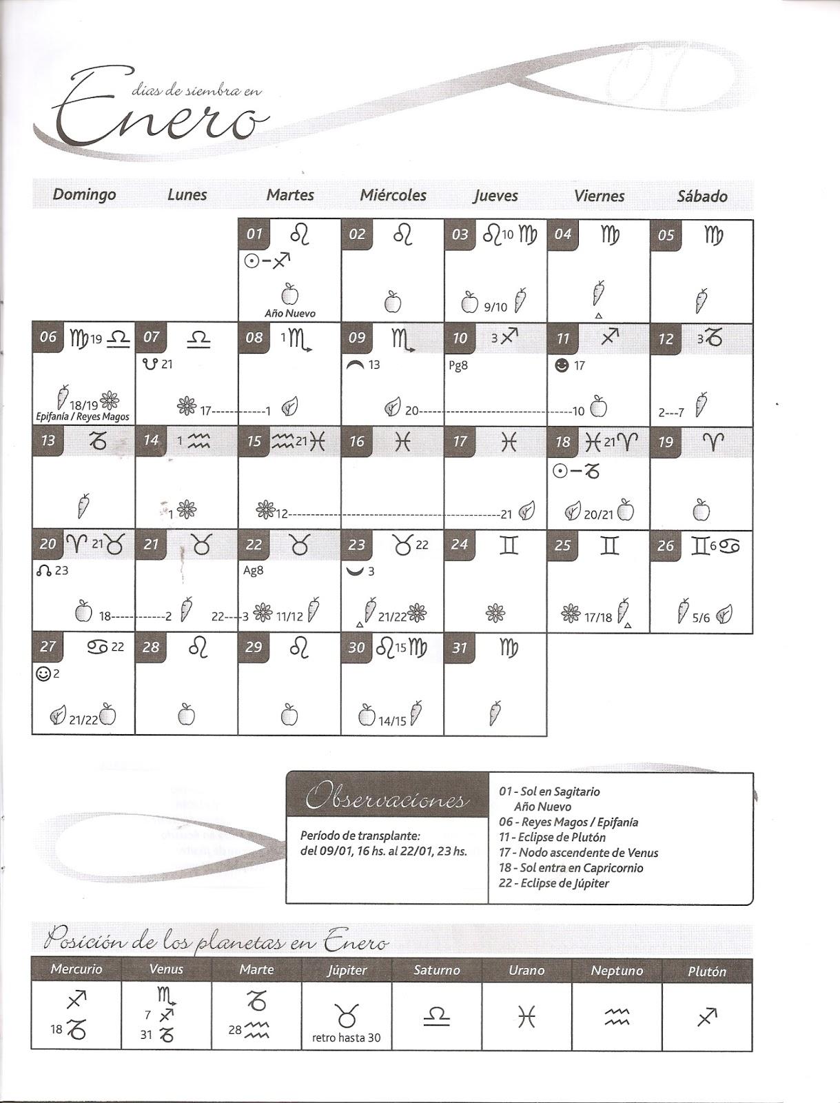 calendario u de chile