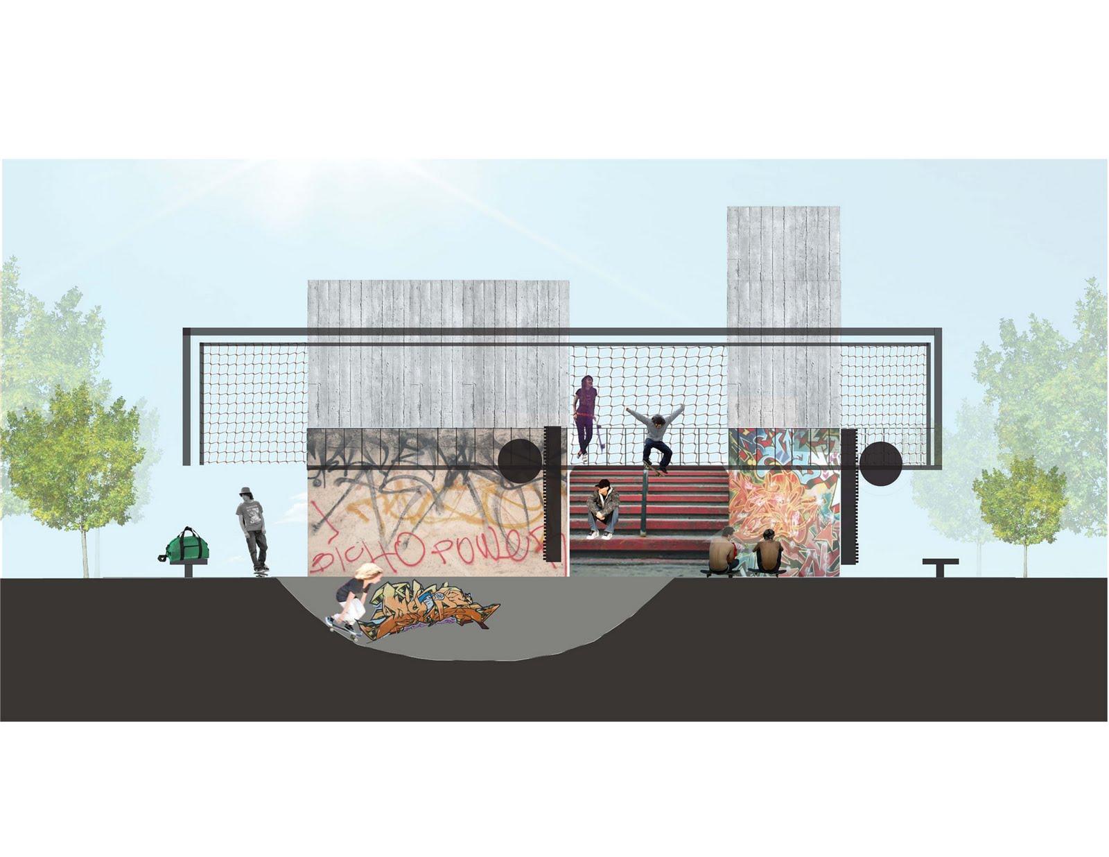 Estructura material taller 4 escuela de arquitectura for Arquitectura nota de corte