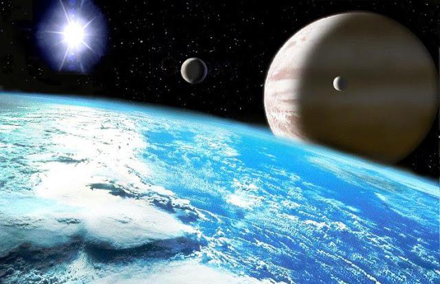 Les énergies cosmiques reçues par la Terre Plan%C3%A8te+Jupiter+et+la+terre