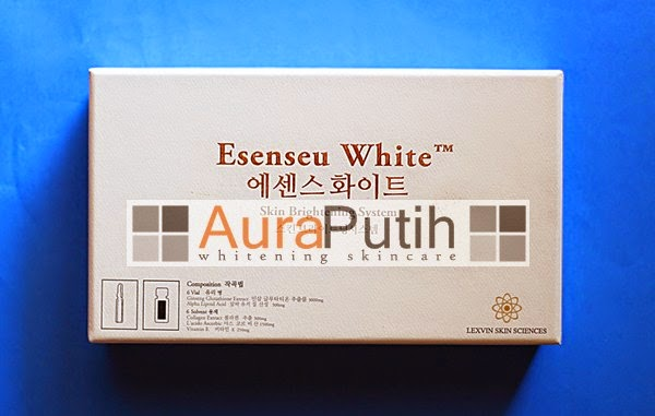 Esenseu White Skin Brightening System injection, Esenseu White Injeksi, Esenseu White Injection, esenseu white harga, esenseu white suntik putih, esenseu white murah