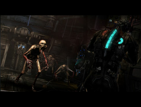 Dead space 3 necromorphs are still enemies courtesy of ea