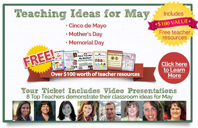 Teaching Blog Addict: Teaching Ideas for May