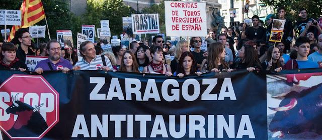 Antitaurina Zaragoza 2013