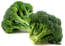 Fotografía del brócoli