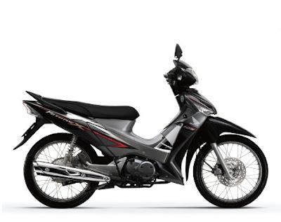 Honda Future X màu đen tháng 6-2011