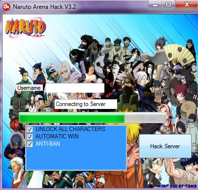 naruto arena character hack