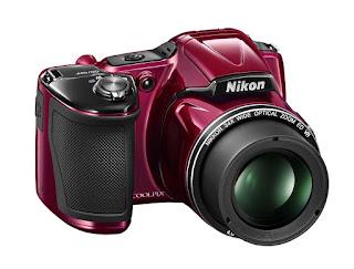 Nikkor Camera Nikon COOLPIX L830 16 MP CMOS Digital Camera with 34x Zoom