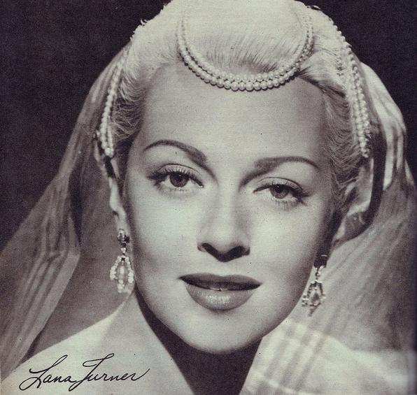 vintage portrait lana turner