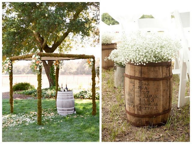 Wine Barrel Decoration Ideas