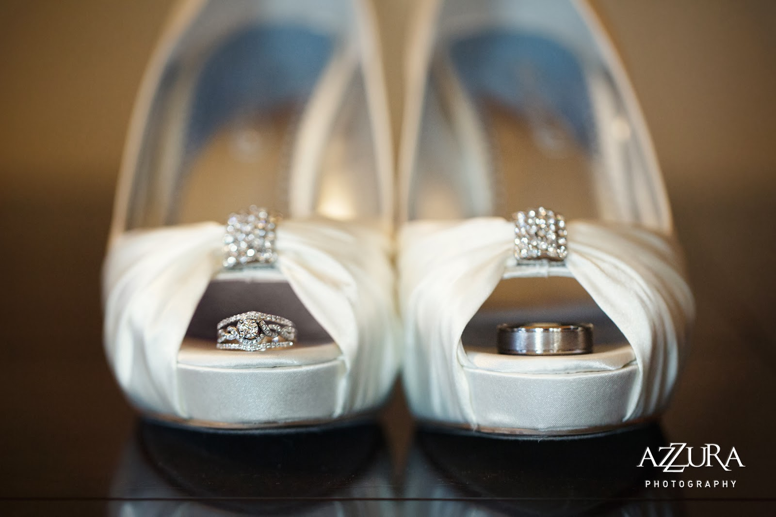 Wedding shoes and weddings rings - Patricia Stimac, Seattle Wedding Officiant