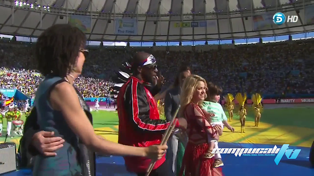 Ceremonia de Clausura Mundial Brasil 2014 Español