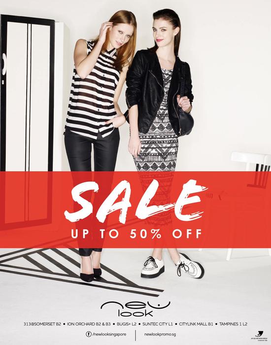 Tua Lobang: New Look's Mid Season Sale, Till 2 April 2013